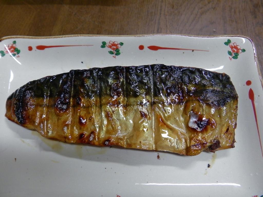 鯖の醤油干し